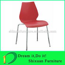 Easy Design Plastic Chiars white home furniture