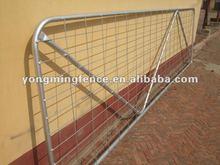 galvanized good welded N brace and 1 style farm gate