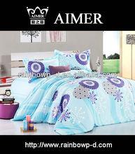 polycotton print cheap queen bedsheet/trade assurance