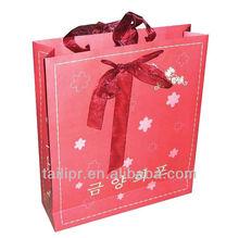 Hot sale Shopping bag printing / gift bag / packing bag*B003