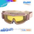 Nuevas gafas de paintball de alta calidad anti- imapct gafas de paintball militar paintball gafas fabricante de china