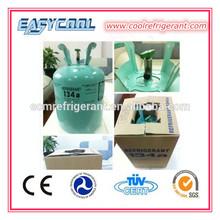 Gaz réfrigérant r134a 30lb 13.6kg pour véhicule r134a gaz système de réfrigération