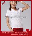venta al por mayor del oem de la camisa de polo con personalizar el diseño