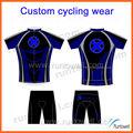 2013 sublimação coolmax ciclismo desgaste / ciclismo almofadas de camurça shorts / ciclismo jersey bib shorts