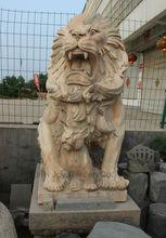 Hot Garden Stone Lion Sculpture