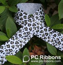 Leopard printing ribbons