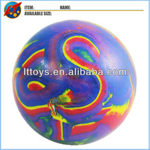 solid rubber bouncing balls 60mm