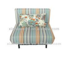 high quality modern single swivel folding sofa bed 2012