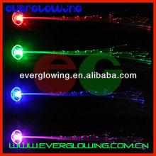 led flashing hair braid