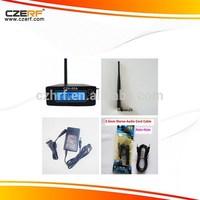 CZH-05A 0.5W Silver Car MP3 Wireless FM Transmitter