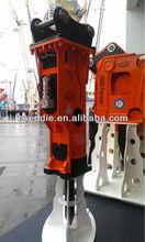 EDT hydraulic hammer/excavator attachment