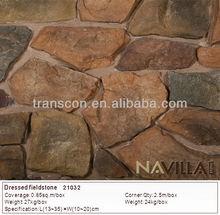 Fake rock cultured stone exterior decorative wall stone 21032
