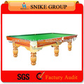 en bois massif 2014 9ft goden de haute qualité de billard pool snooker table de jeux