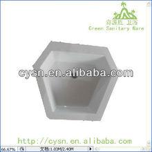 sulid surface stone resin art lavabo