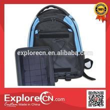 Solar panel Hiking Backpack Bag