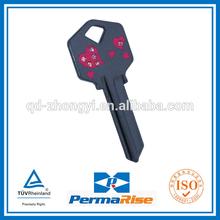 High quality diamond house key painted design key blank