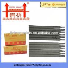 Rutile coating golden bridge quality welding electrodes aws e6013 electrode welding brand