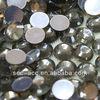 10mm lead free artificial glass stone Smoked Black Diamond hotfix Rhinestone