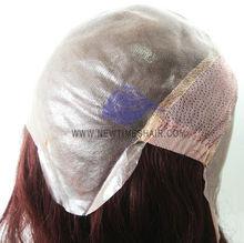 All skin Polyurethane human hair full lace wig