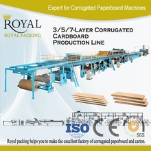 5 layer corrugated cardboard production line packaging machine, corrugator, box making machine
