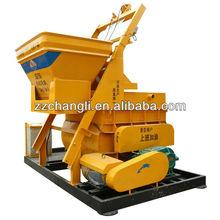Hot sale! JS750(35m3/h) trailer mounted concrete mixer