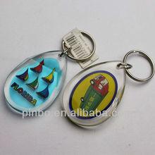 blank acrylic cheap promotional keychain