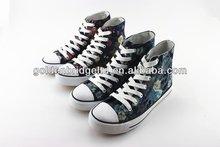 custom make high quality canvas shoes