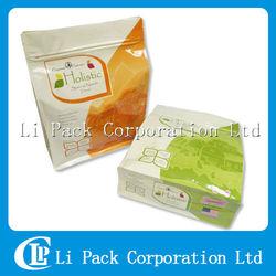 Flat Bottom Plastic Bag For Dry Cat Food