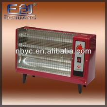 3 tubes 1500w electric heater ceramic/quartz tube for your choice