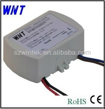 9W 12v 700ma constant current dimmable waterproof IP67 plastic case LED driver