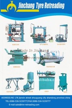 Best price! Whole Used Tyre Recycling Equipment/Used Tire Retreading Machine