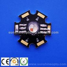 Star PCB 3w RGB led for LED Lamp
