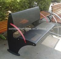 2013 New Strong outdoor steel bench/ steel bench