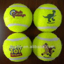 Custom Printed Logo Fluorescent Tennis Balls