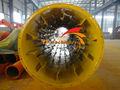 Fly ash se aplica a cenizas mosca seca, cenizas de carbón, tres tambores secador rotatorio para las cenizas de carbón