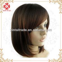 2013 hot sale short wig oblique bangs fluffy bobo wig
