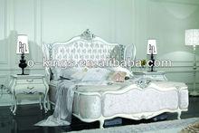 Wholsale Neoclassical fancy princess bedroom furniture set