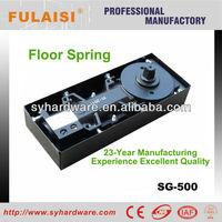 Frameless glass door floor machine hardware manufacture