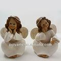 anjo de natal artesanato polyresin