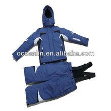 2013 New nylon taslon waterproof boys fashion blue ski suits for kids ski jackets and pants suits in ski & snow wear
