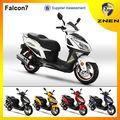 znen 50cc 125cc 150cc baratos deporte scooter de gasolina para la venta falcon 7 150cc