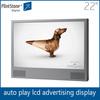 FlintStone 22 inch advertising digital display board, hot video player, digital video player