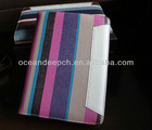 Leather case stand pattern belt case book for ipad mini 7.0 tablet