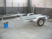 2015 hot dip galvanized motorcycle cargo trailer
