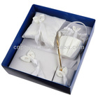Fashion and elgant wedding accessories set