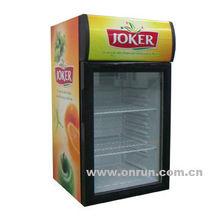 52L beverage cooler, showcase fridge