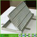 L'eau de drainage grille métallique