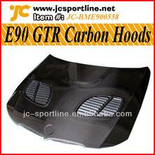 E90 GTR Carbon Fiber Hoods/Bonnet For BMW E90