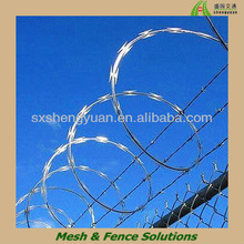 Hot Dipped Galvanized Razor Barbed iron Wire