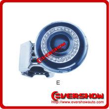 Round steering wheel with diamond steering knob ES63007